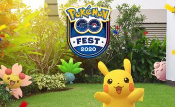 Le Pokémon Go Fest se tiendra en ligne cette année
