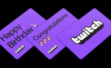 Twitch vend maintenant des cartes cadeaux numériques