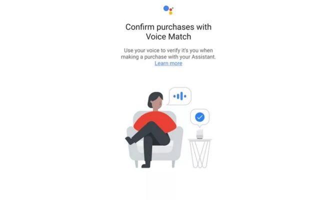 Google teste le Voice Matching pour sécuriser les achats via Google Assistant