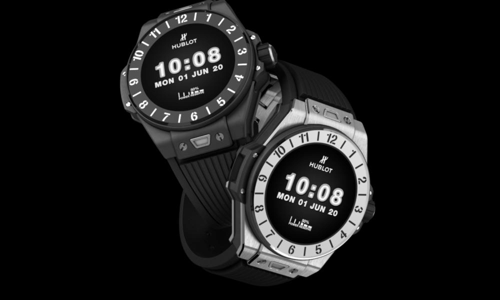 Hublot lance une nouvelle montre connectée sous Wear OS