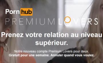 Pornhub lance Premium Lovers, un abonnement premium pour les couples