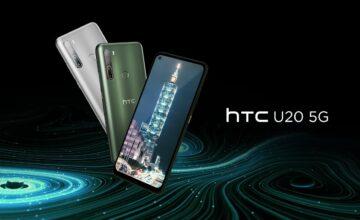 HTC présente son premier smartphone 5G, l'U20