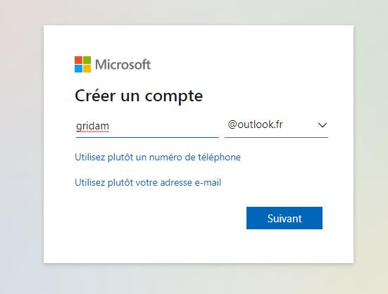 Hotmail Adresse