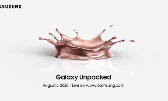 L'événement Galaxy Note 20 aura lieu le 5 août