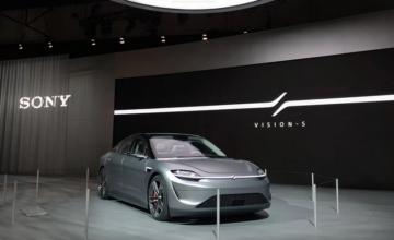 Vision-S : la voiture électrique de Sony débarquera bientôt sur les routes