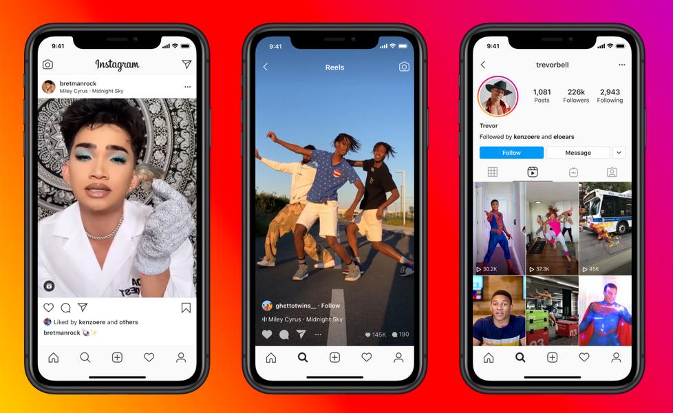 Facebook lance son rival TikTok, Instagram Reels