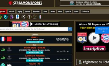 Streamonsports : regarder des chaines de sport gratuitement en stream