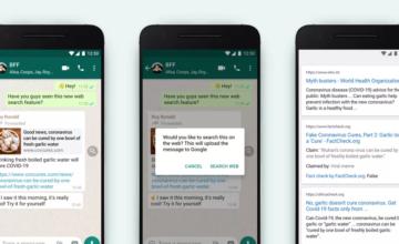 WhatsApp lance un nouvel outil pour lutter contre les fake news