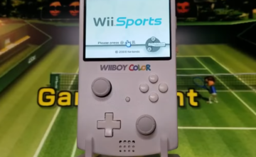 Il transforme une Wii portable en Game Boy Color