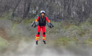 Gravity Industries teste des combinaisons volantes pour des secouristes