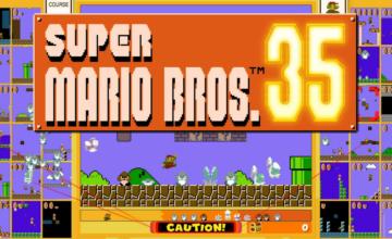 Nintendo annonce la célébration du 35e anniversaire de Super Mario Bros.