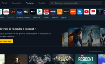 JustWatch : un moteur de recherche pour savoir où regarder films et séries en streaming