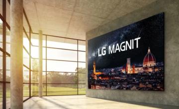 LG dévoile un téléviseur MicroLED de 163 pouces