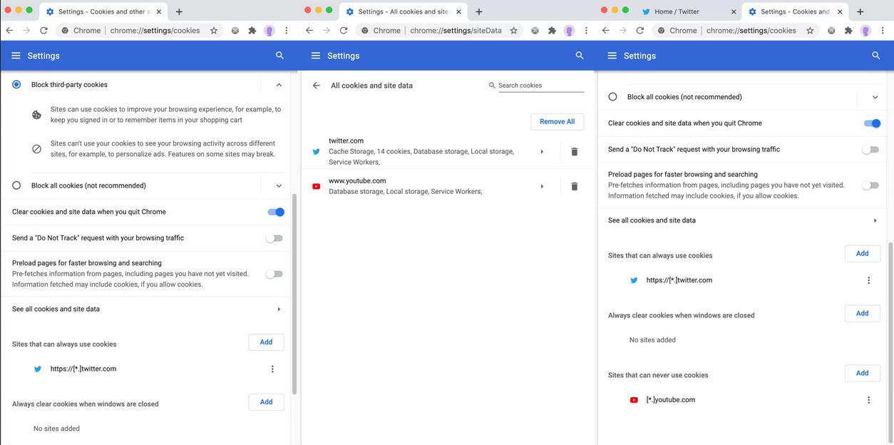 Un bug de la confidentialité au sein de Chrome efface les données et les cookies des sites Web, sauf ceux appartenant à Google.