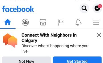 Facebook teste actuellement une nouvelle fonction baptisée «Neighborhoods»