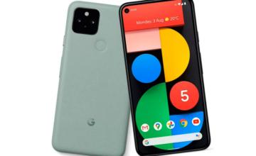 Google présente le Pixel 5, un smartphone compatible 5G
