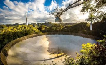Le télescope spatial emblématique Arecibo est en cours de démantèlement