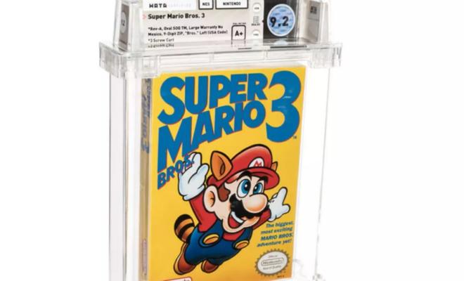 Un autre titre de Super Mario NES devient le jeu vidéo le plus cher du monde