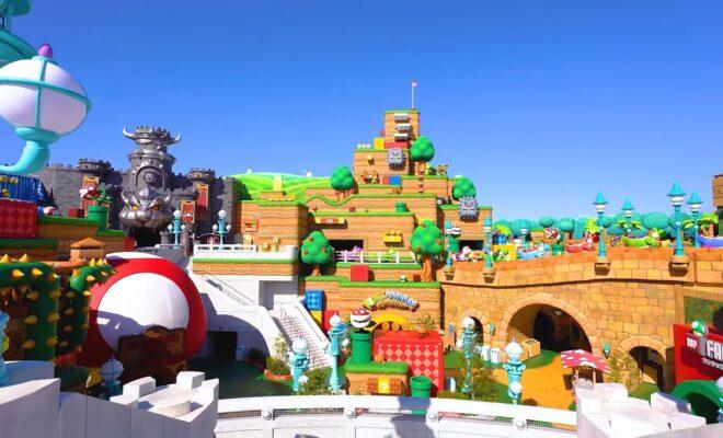 Le parc Super Nintendo World ouvrira finalement le 4 février (vidéos)