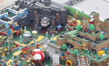 Super Nintendo World : la construction du parc Nintendo est quasiment terminée