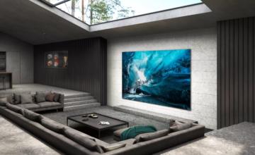 Samsung dévoile son téléviseur MicroLED 4K de 110 pouces