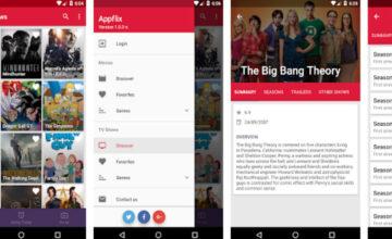 Appflix : une application qui propose un catalogue de contenu numérique