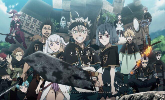 Black Clover : regarder l'anime en streaming VOSTFR
