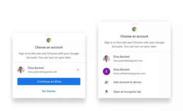 Chrome : un nouveau moyen plus simple de synchroniser les informations entre les appareils