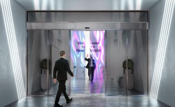 LG intègre des écrans OLED transparents dans des portes coulissantes en verre