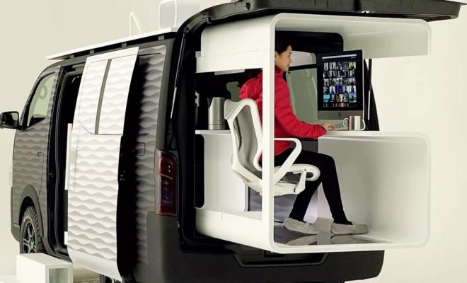 Nissan réinvente le bureau mobile avec son nouveau concept-car