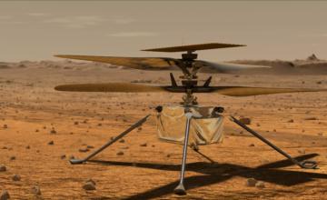 Ingenuity, le petit hélicoptère développé par l'agence spatiale américaine, atteindra la planète Mars le mois prochain.