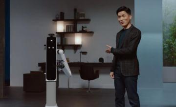 CES 2021 : Samsung présente un robot très serviable nommé Bot Handy