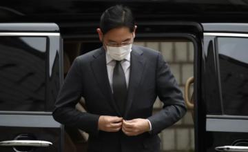 L'actuel vice-président et héritier de Samsung renvoyé en prison