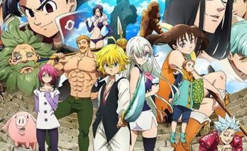 Nanatsu no taizai : regarder la saison 4 en VOSTFR