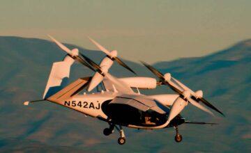 Joby révèle les premières images en vol de son engin électrique VTOL