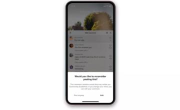TikTok avertira les utilisateurs avant de publier des commentaires «inappropriés ou méchants»