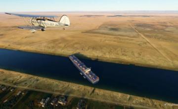 Microsoft Flight Simulator : Un mod a été créé pour voir le cargo Ever Given