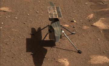 Mars : l'hélicoptère Ingenuity de la Nasa réussit son premier vol historique