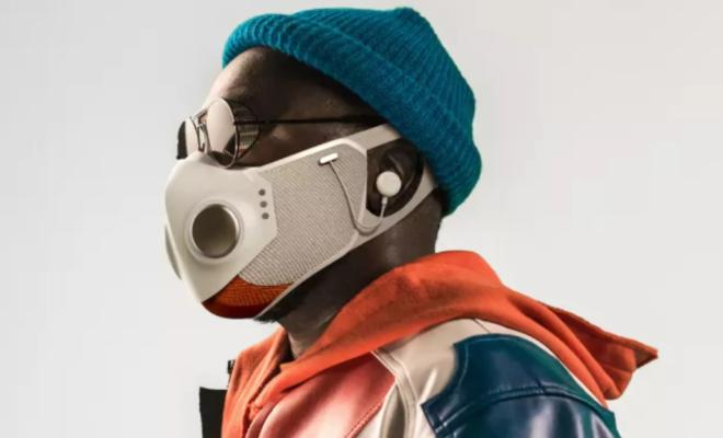 Will.i.am révèle son masque avec deux ventilateurs, des écouteurs ANC, Bluetooth et plus