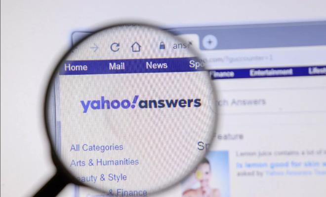 Yahoo Answers s'arrête après 16 ans de service
