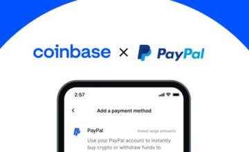 Coinbase vous permet désormais d'acheter de la cryptomonnaie avec votre compte PayPal