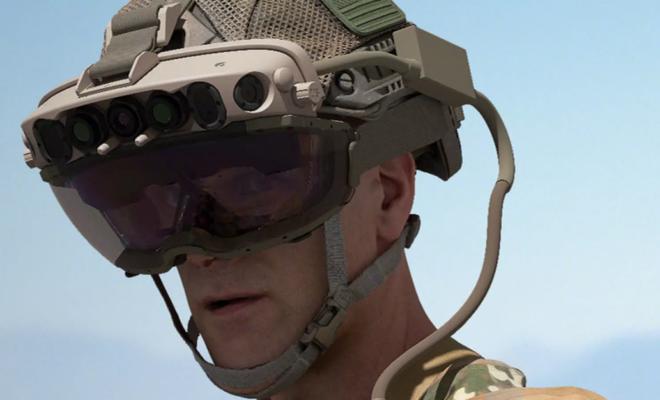 Microsoft signe un contrat avec l'armée américaine et va fournir 120 000 casques HoloLens
