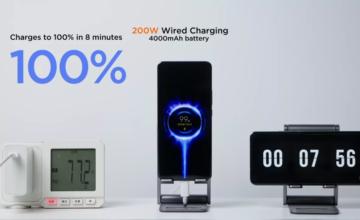 Xiaomi présente HyperCharge, une technologie capable de recharger un smartphone en 8 minutes