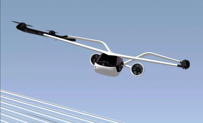 Volocopter dévoile son dernier engin volant, le VoloConnect