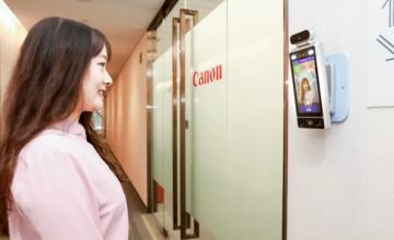 Chine : Canon a installé des caméras dans ses bureaux qui ne laissent entrer que des employés souriants