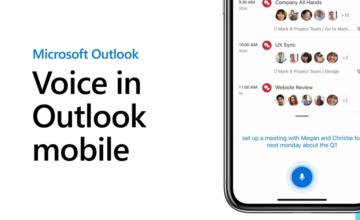 Microsoft Outlook pour iOS vous permet désormais d'utiliser votre voix pour écrire des e-mails