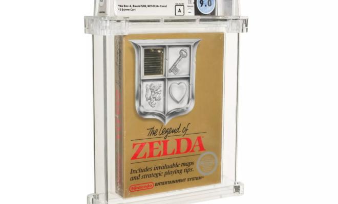 Un exemplaire rare de The Legend of Zelda atteint les 115 000 $ aux enchères