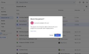 Google a enfin pris des mesures contre le spam sur Google Drive