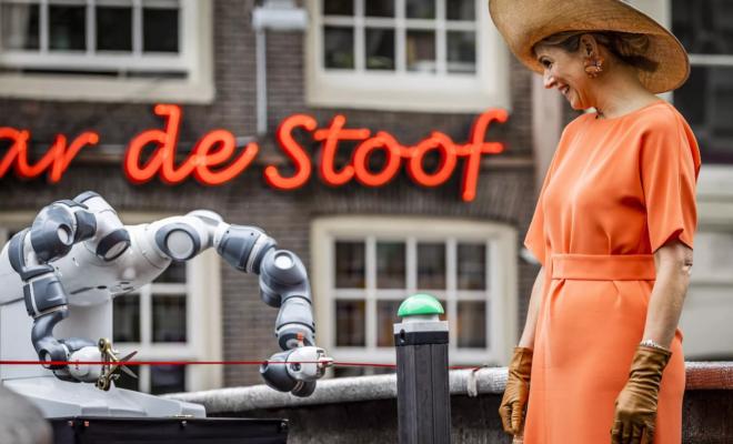 Un pont imprimé en 3D a été inauguré à Amsterdam