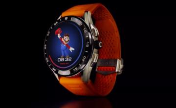 Tag Heuer annonce une montre connectée Android sur le thème de Super Mario à 2 150 $